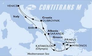 Italy, Greece, Albania, Croatia