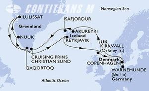Germany, Iceland, Greenland, United Kingdom, Denmark