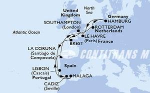 Germany, France, United Kingdom, Belgium, Netherlands