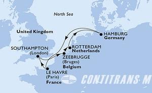 France, United Kingdom, Belgium, Netherlands, Germany