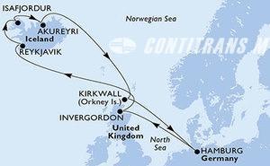 Germany, United Kingdom, Iceland