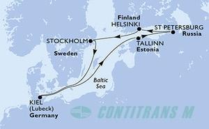Germany, Estonia, Russian Federation, Finland, Sweden