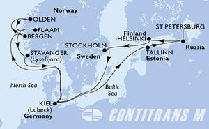 Germany, Norway, Estonia, Russian Federation, Finland, Sweden
