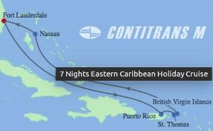EQ 7 NIGHT EASTERN CARIBBEAN HOLIDAY CRUISE