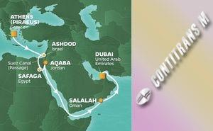 PR 17-NIGHT ISRAEL, EGYPT & JORDAN VOYAGE