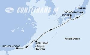 Hong Kong, Taiwan, Japan