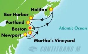 Canada & New England - Boston (BOS/BOS)