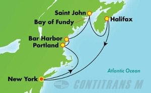 Canada & New England - New York (NYC/NYC)
