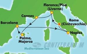 Europe - Western Mediterranean - Rome (CIV/CIV)