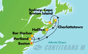 Canada & New England - Boston (BOS/BOS)