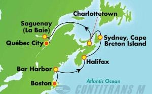 Canada & New England - Boston (BOS/QUE)