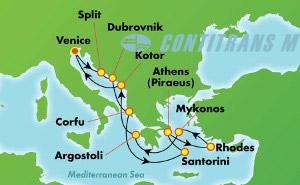 Greek Isles & Italy (VCE/VCE)
