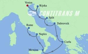 IN 8 NIGHT ADRIATIC, GREECE & ITALY CRUISE