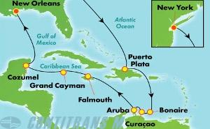 Southern Caribbean - New York (NYC/MSY)