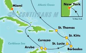 Southern Caribbean - Miami (MIA/NYC)