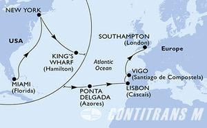 United States, Bermuda, Portugal, Spain, United Kingdom