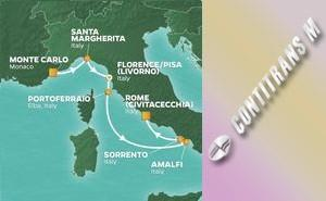 JR 7-NIGHT ITALY INTENSIVE VOYAGE
