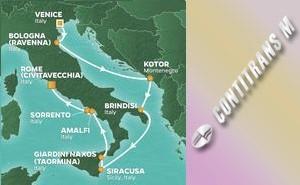 JR 10-NIGHT ITALY INTENSIVE VOYAGE