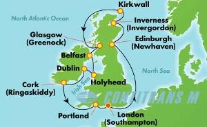 EUROPE - BRITISH ISLES (SOU/SOU)