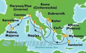 Greek Isles & Italy (CIV/BCN)