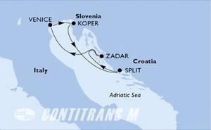 Italy, Slovenia, Croatia