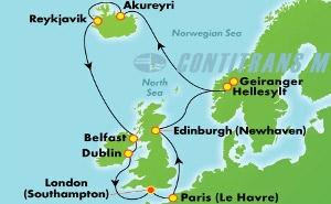 EUROPE - NORWEGIAN FJORDS (SOU/SOU)