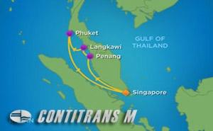 VY 5 NIGHT SPICE OF SOUTHEAST ASIA CRUISE
