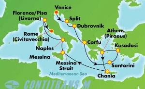Greek Isles & Italy (VCE/CIV)