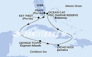 United States, Cayman Islands, Jamaica, Bahamas