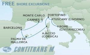 Западно Средиземноморие - Италия, Испания, Франция