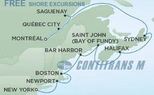 COLORFUL COASTS OF CANADA