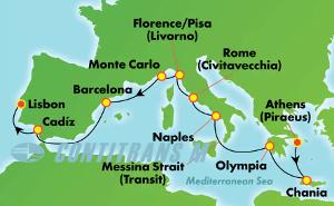 Greek Isles & Italy (PIR/LIS)