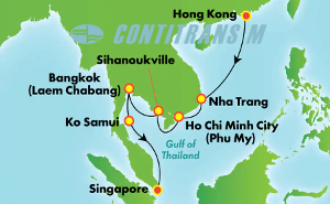 Asia - East Asia (HKG/SIN)