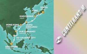 PR 15-NIGHT SPRINGTIME IN ASIA VOYAGE