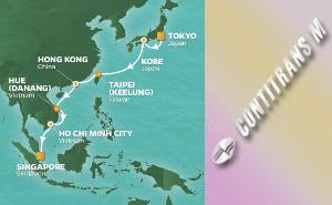 PR 16-NIGHT TOKYO TO SINGAPORE VOYAGE