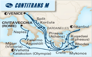 24-DAY MEDITERRANEAN EMPIRES & ADRIATIC DREAM