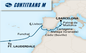 15-DAY PASSAGE TO AMERICA