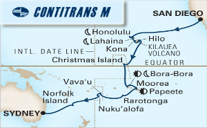 30-DAY SOUTH PACIFIC CROSSING