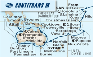 63-DAY SOUTH PACIFIC & AUSTRALIA CIRCUMNAVIGATION COLLECTOR