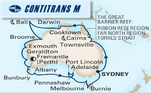 33-DAY AUSTRALIA CIRCUMNAVIGATION