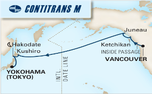 14-DAY NORTH PACIFIC CROSSING