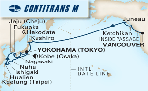 28-DAY NORTH PACIFIC CROSSING & JAPAN COLLECTOR