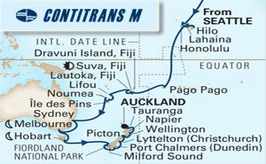 40-DAY SOUTH PACIFIC, AUSTRALIA & NEW ZEALAND COLLECTOR