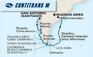 14-DAY SOUTH AMERICA PASSAGE