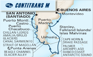 22-DAY SOUTH AMERICA & ANTARCTICA HOLIDAY
