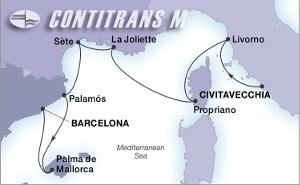 Барселона, Менорка, Корсика, Тоскана, Прованса