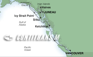 7-DAY GLACIERS & ALASKA INSIDE PASSAGE