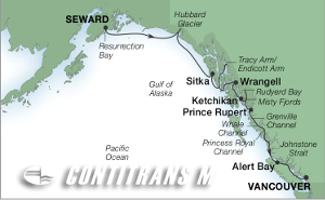 11-DAY INSIDE PASSAGE & ALASKA FJORDS