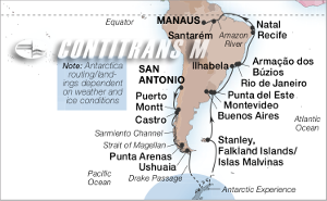 42-DAY ANTARCTICA & AMAZON ISLES