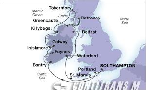 15-DAY GEMS OF THE IRISH SEA & HEBRIDES